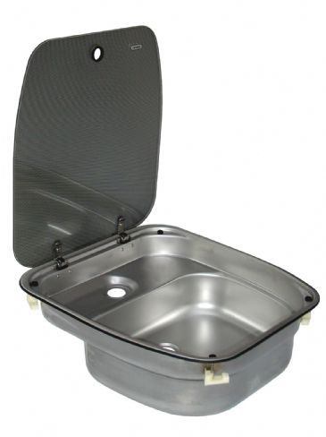Dometic Cramer Sink With Glass Lid (Deluxe)